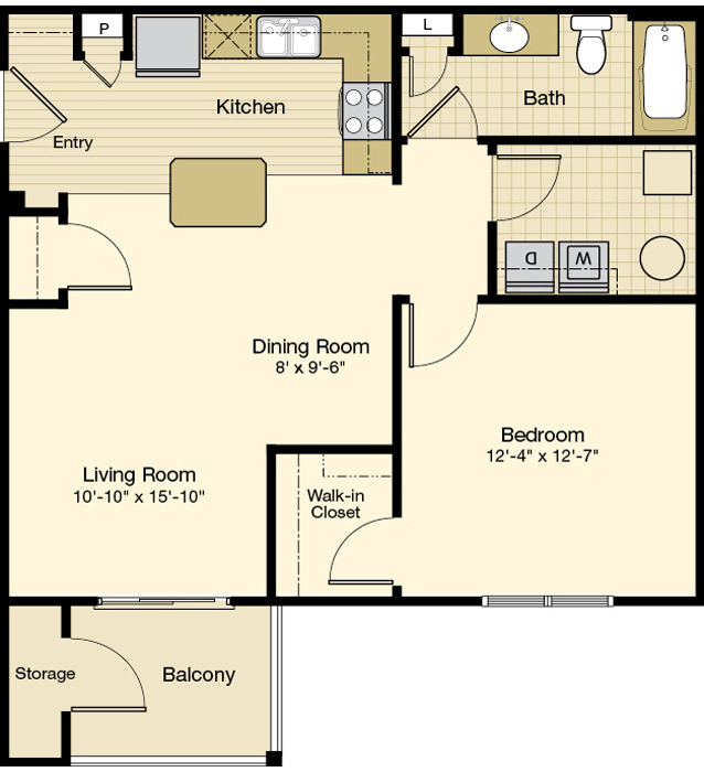 Solo Floorplan at Ridge at Perry Bend